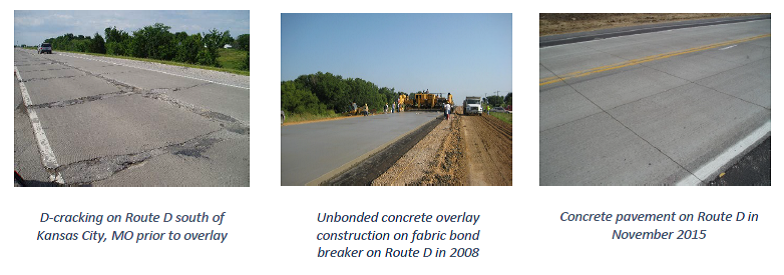 Pavement Rehabilitation With Unbonded Concrete Overlays